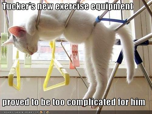 new exercise equipment