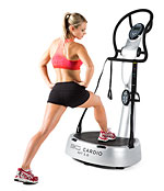 AVT 5.0 Vibration Machine by 3G Cardio - Silver