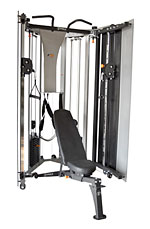 Torque Fitness F9 Fold Away Strength Trainer WITH bench