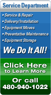 Service and Preventative Maintenance including Delivery and Installation from At Home Fitness Service Department