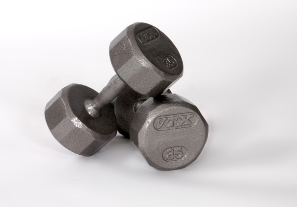 VTX 12 Sided Hex Dumbells