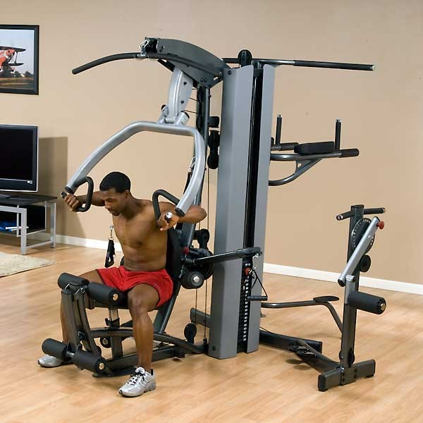 Body solid fusion personal trainer at home fitness