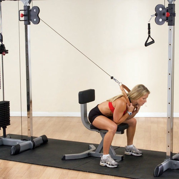 Body Solid Deluxe Cable Crossover At Home Fitness