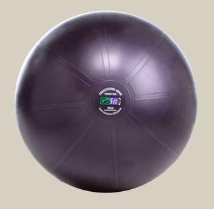 GoFit Professional Grade Burst Resistant Ball - 65CM Purple