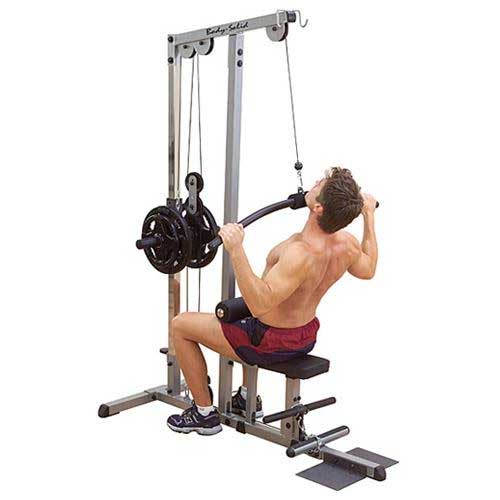 Body Solid Pro Lat Machine At Home Fitness