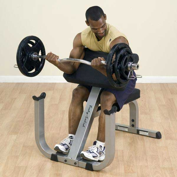 Body-Solid Heavy-Duty Preacher Curl Bench - At Home Fitness