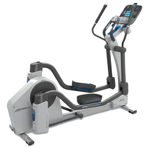 X5 elliptical cross trainer from life fitness 360