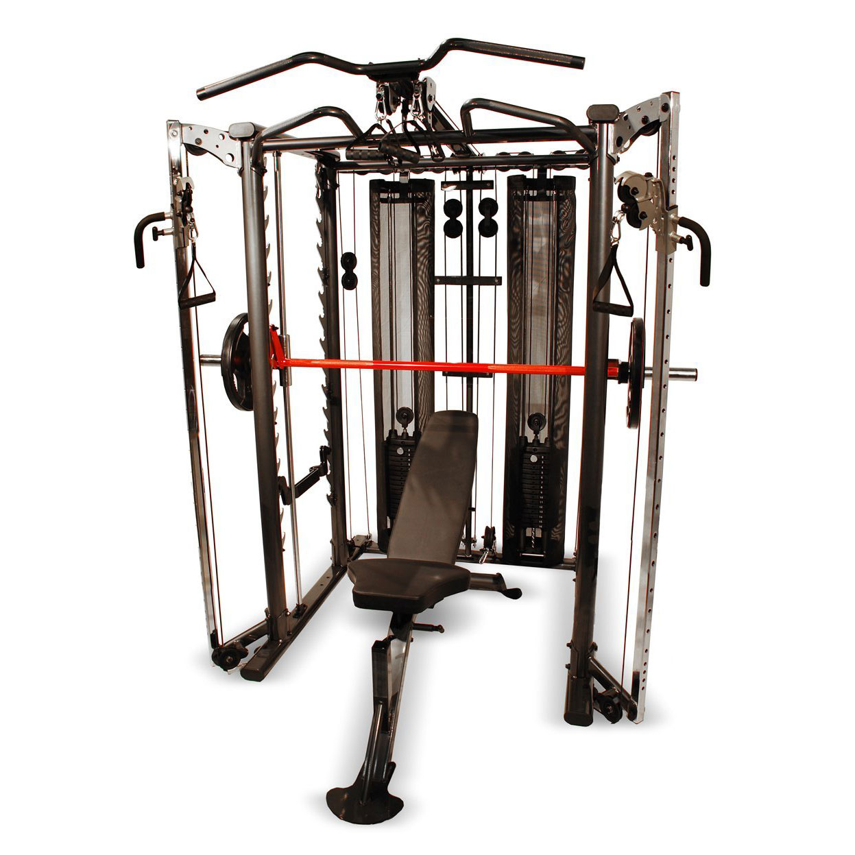 Inspire Full Smith Cage System With Adjustable Bench