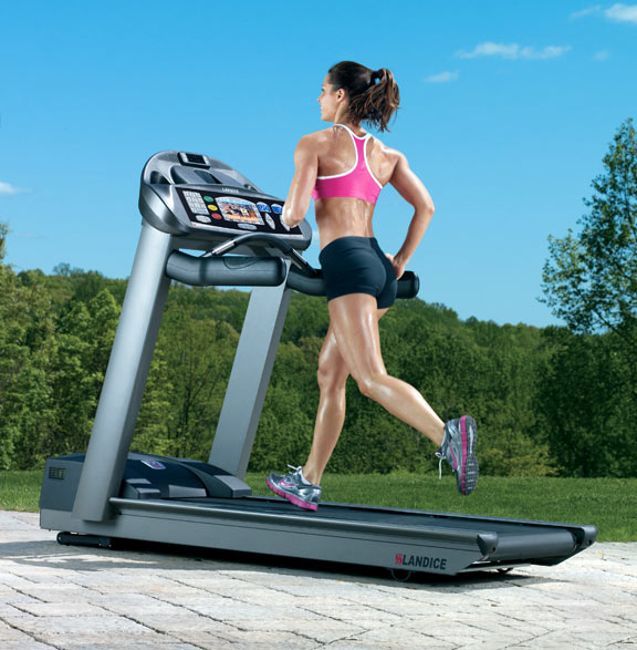 Landice L7 Executive Treadmill Manual: Landice L7 Pro Sport Trainer Treadmill