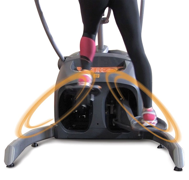 Octane Lateralx Lx8000 Touch Elliptical At Home Fitness