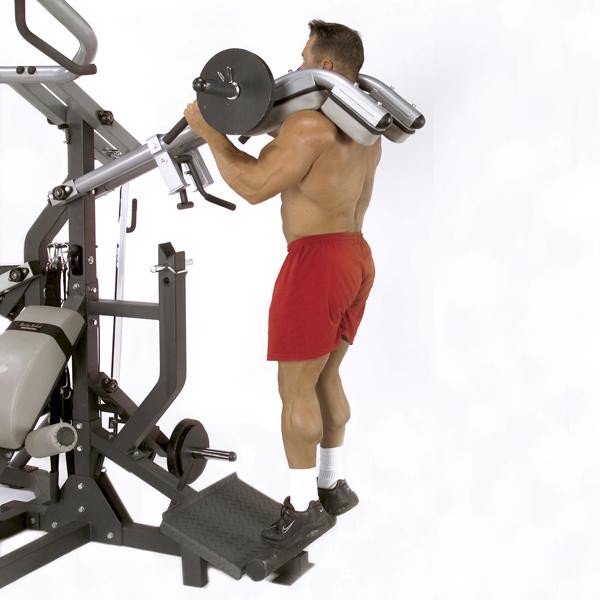 Freeweight Leverage Gym At Home Fitness