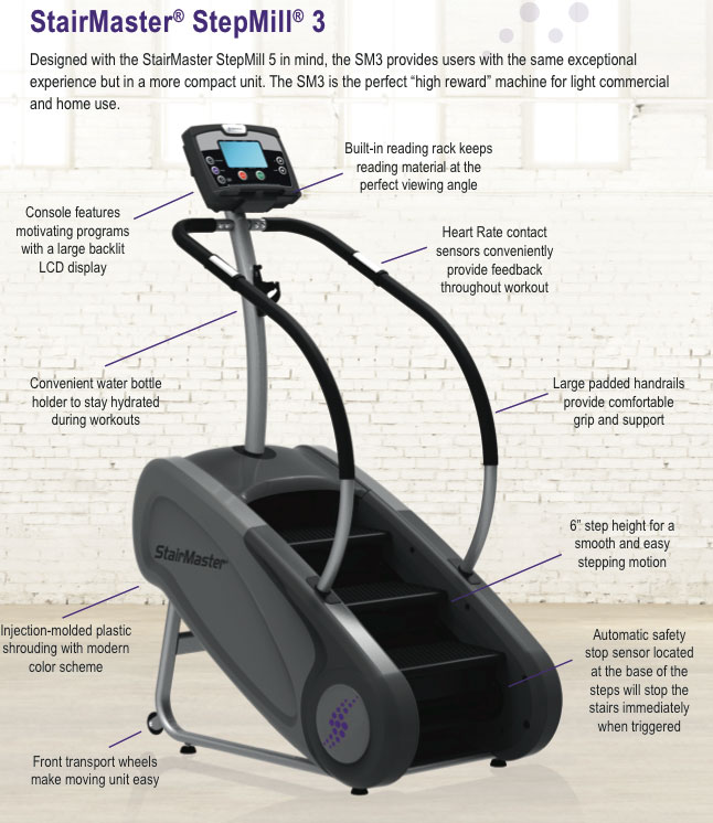 Star Trac Treadmill Youtube: Stair Master. Awesome Stairmaster Airfit Ub. Interesting