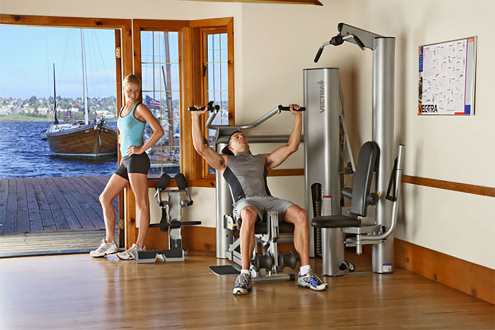 Vectra 1450 home gym - Images of home gyms ...
