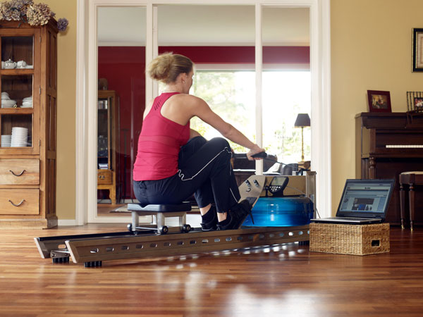 WaterRower S1 with S4 monitor