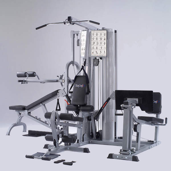 Used Hoist Gym: BodyCraft K2 2 Stack HomeGym With Functional Arms