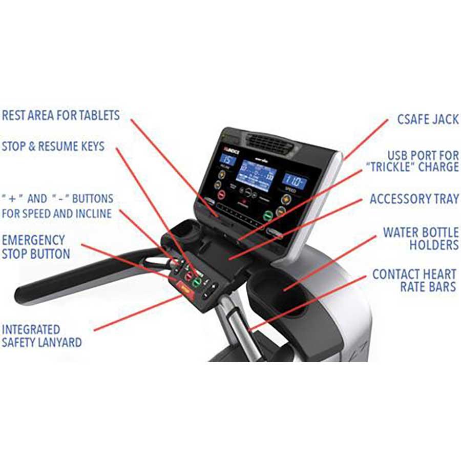 Cybex Treadmill Heart Rate Monitor: Landice L7 Pro Sport Trainer Treadmill
