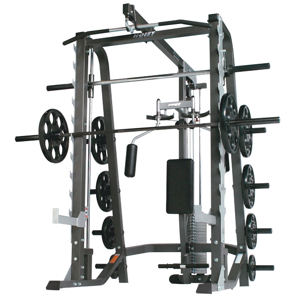 Hoist hf half cage ensemble at home fitness