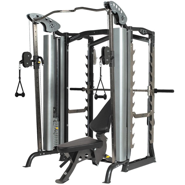 Hoist Multi Gym Mi7 Smith Ensemble: Hoist PTS Ensemble #2