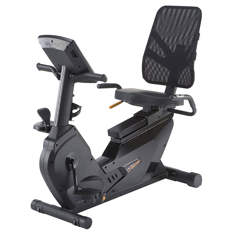 Exercise Bike For Disabled: LifeCore Fitness 860RB Recumbent Exercise Bike