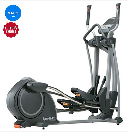 The SportsArt E825 Elliptical Machine