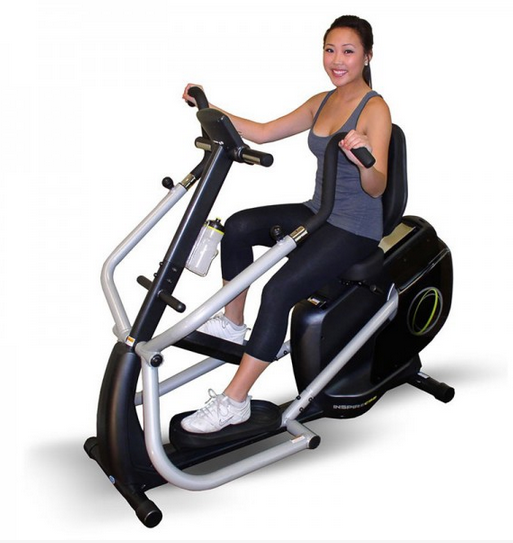 The Inspire CS-2 Cardio Strider Recumbent Bike is a less expensive, but equally effective option than the NuStep Bike for people who want a home recumbent exercise bike.