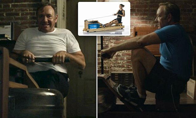 what is the rowing machine in house of cards