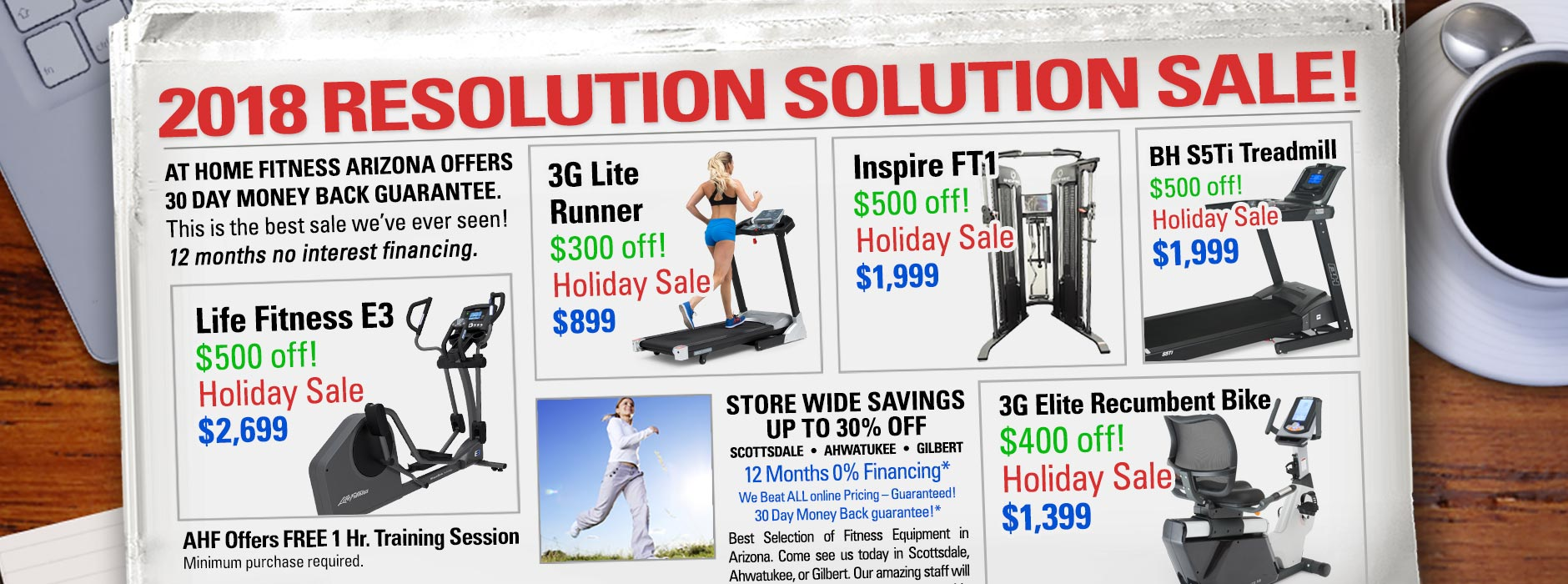 At Home Fitness New Year Super Sale