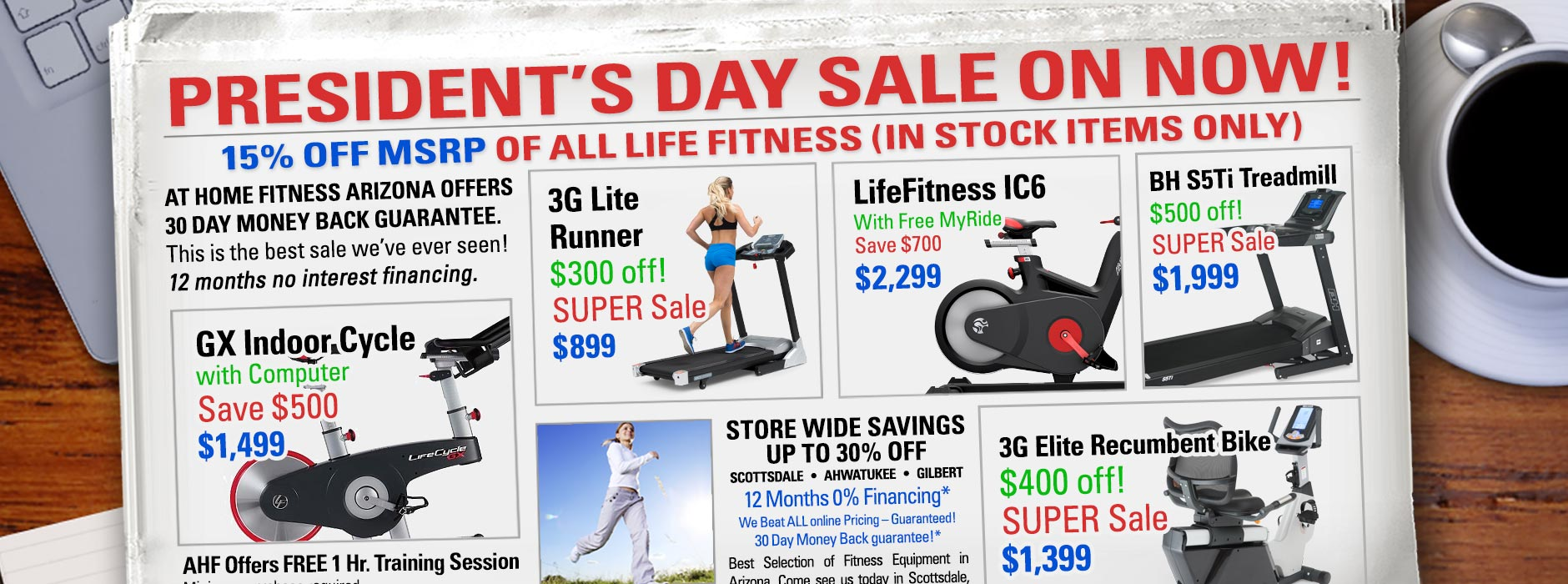 2018 Presidents Day Sale At Home Fitness